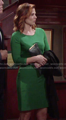 Phyllis's green dress on The Young and the Restless