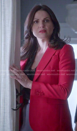 Regina's red blazer on Once Upon a Time
