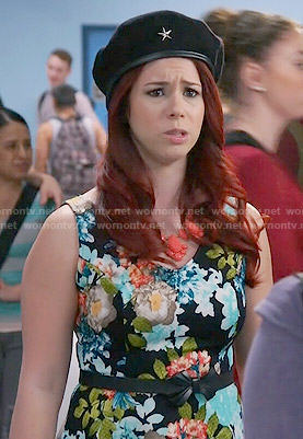 Tamara's floral dress on Awkward