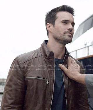 Ward's brown leather jacket on Agents of SHIELD