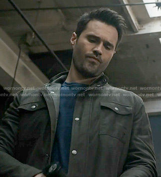 Ward's brown suede jacket on Agents of SHIELD