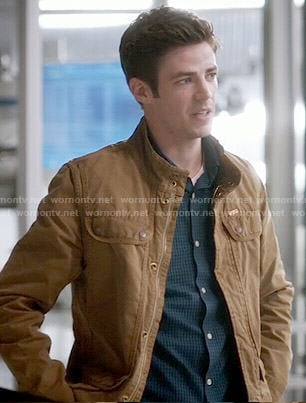 Barry's tan jacket on The Flash