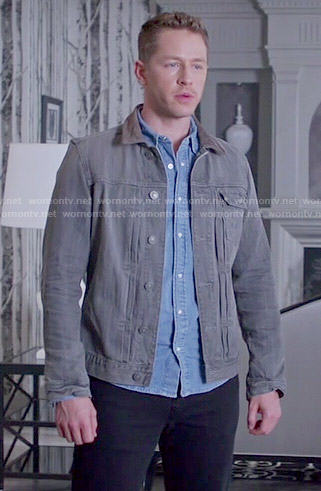 David's grey denim jacket on Once Upon a Time