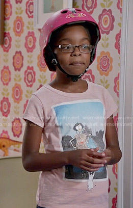 Diane's Taj Mahal graphic tee on Black-ish