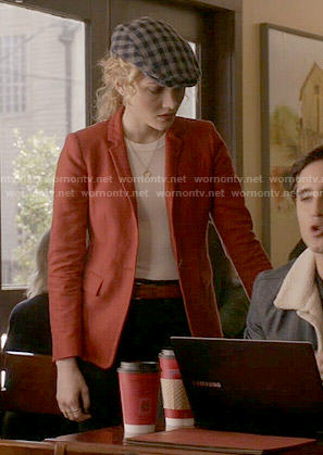 Grace's red blazer on Scream Queens