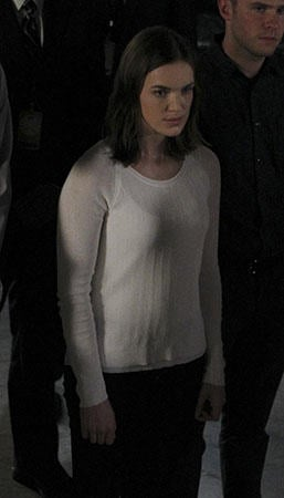 Jemma's white sweater on Agents of SHEILD