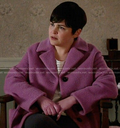 Mary's pink coat on Once Upon a Time