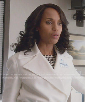 Olivia's white coat on Scandal