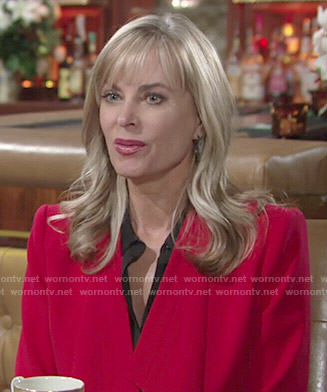 Ashley's red jacket on The Young and the Restless