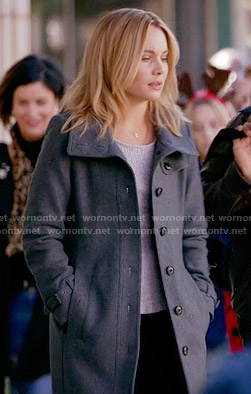 Camille's grey coat on The Originals