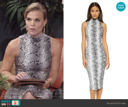 worn by Gina Tognoni on The Young & the Restless