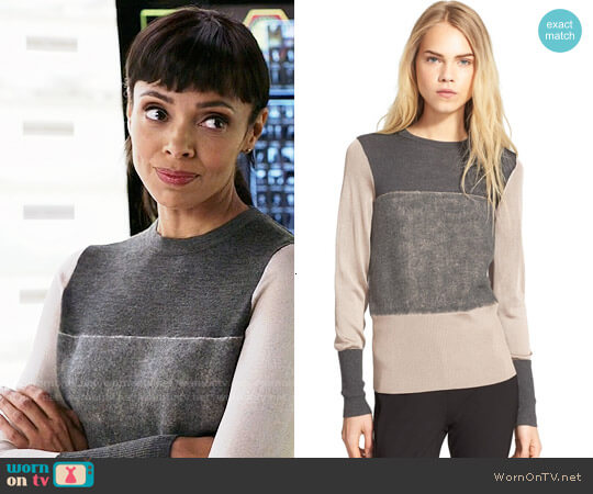 Rag & Bone Marissa Sweater worn by Tamara Taylor on Bones