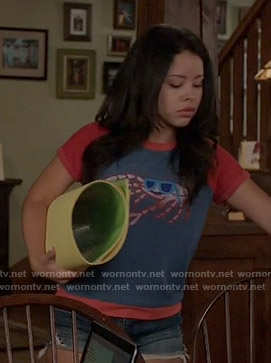 Mariana's crab top on The Fosters