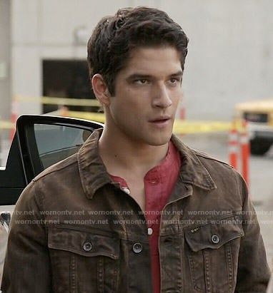 Scott's brown jacket on Teen Wolf
