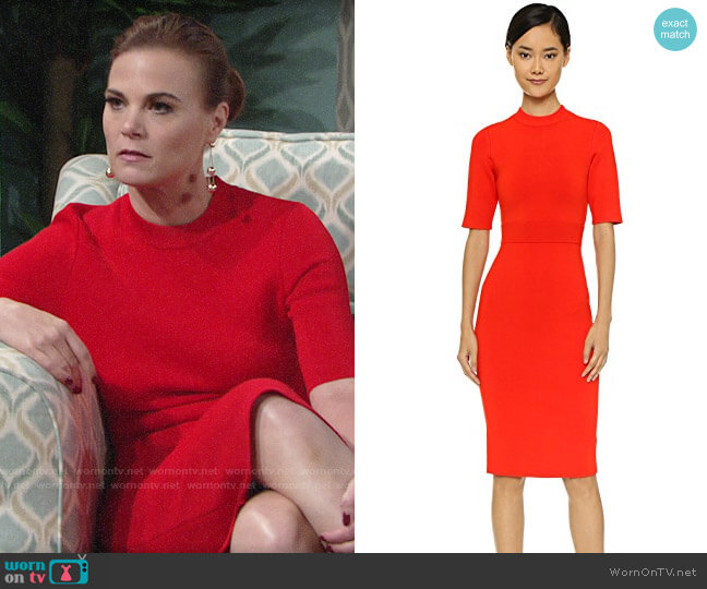 ALC Scoppa Dress worn by Phyllis Newman (Gina Tognoni) on The Young & the Restless