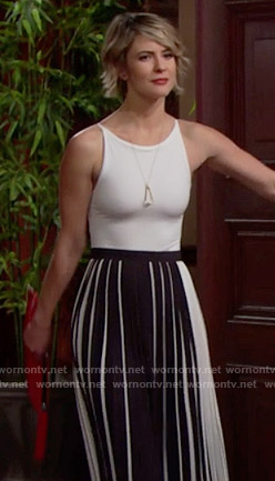 Caroline Spencer Outfits On The Bold And The Beautiful