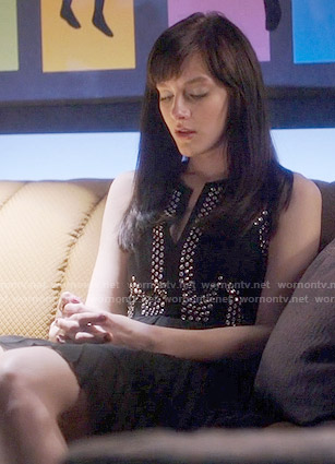 Layla's studded dress on Nashville