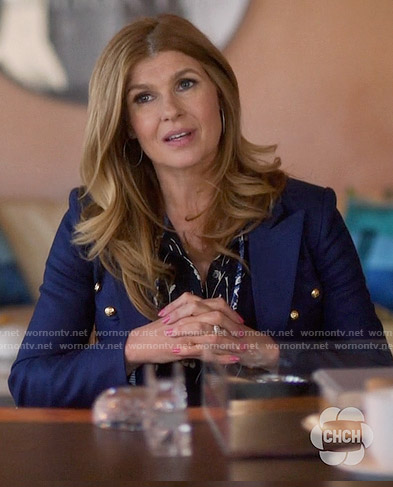 Rayna's blue blazer on Nashville