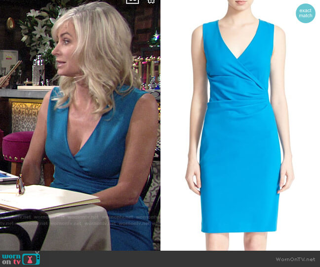 Diane von Furstenberg Layne Dress worn by Ashley Abbott (Eileen Davidson) on The Young & the Restless