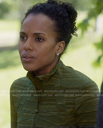 Olivia's marled running jacket on Scandal