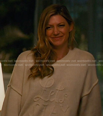 Josslyn's Lets Stay Home Sweater on Mistresses