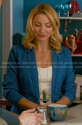 Kate's denim blazer on Mistresses