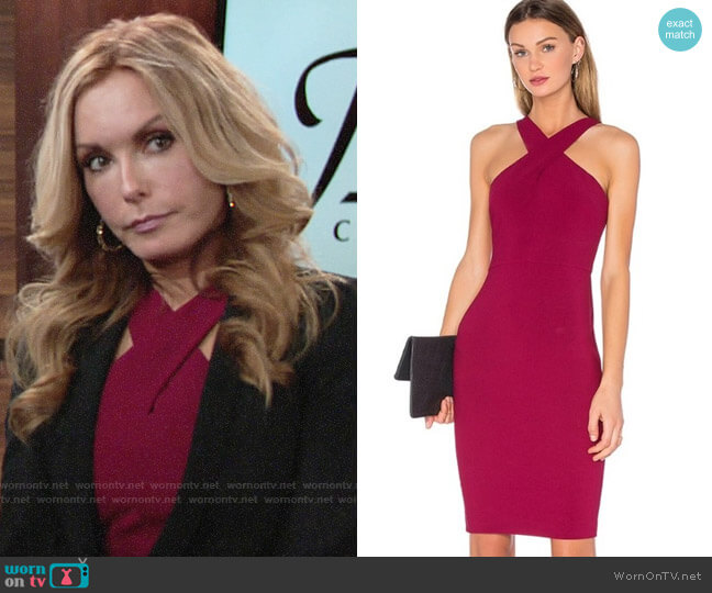 Likely Carolyn Dress worn by Lauren Fenmore (Tracey Bregman) on The Young & the Restless