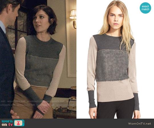 Rag & Bone Marissa Sweater worn by Laurel Healy (Mary Elizabeth Winstead) on BrainDead
