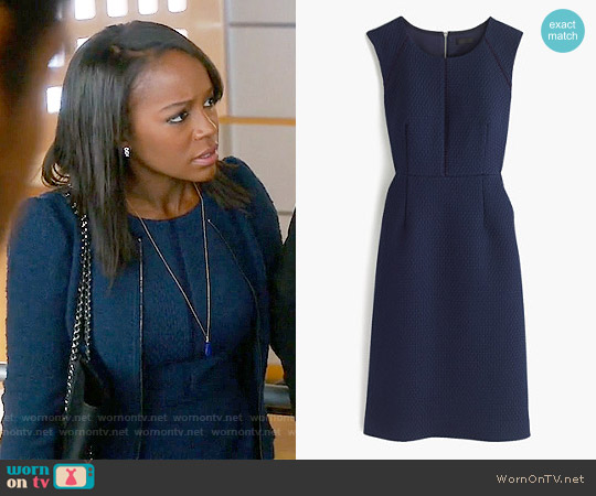 J. Crew Portfolio Dress worn by Aja Naomi King on HTGAWM