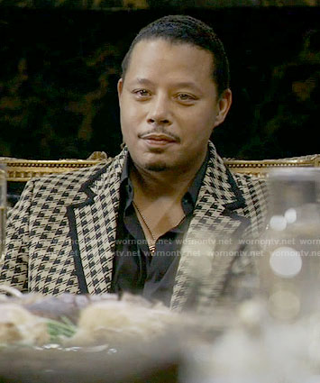 Lucious's houndstooth jacket on Empire