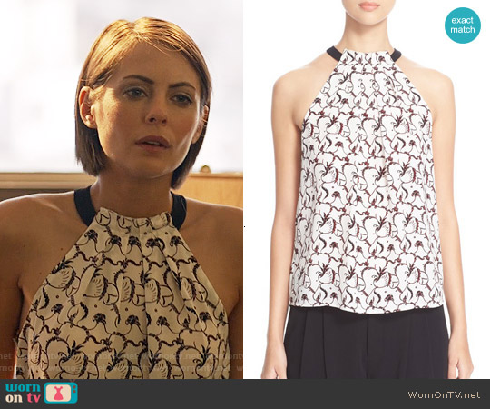 ALC Mari Top worn by Willa Holland on Arrow