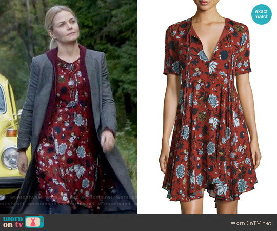 ALC Sosta Dress worn by Jennifer Morrison on OUAT