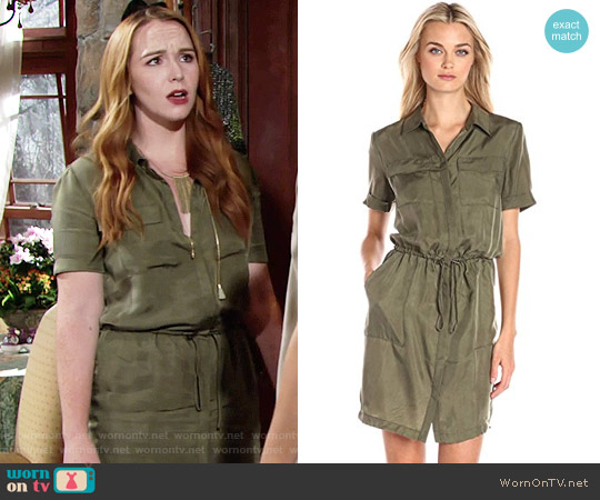 Bailey 44 Lebombo Dress worn by Mariah Copeland (Camryn Grimes) on The Young & the Restless