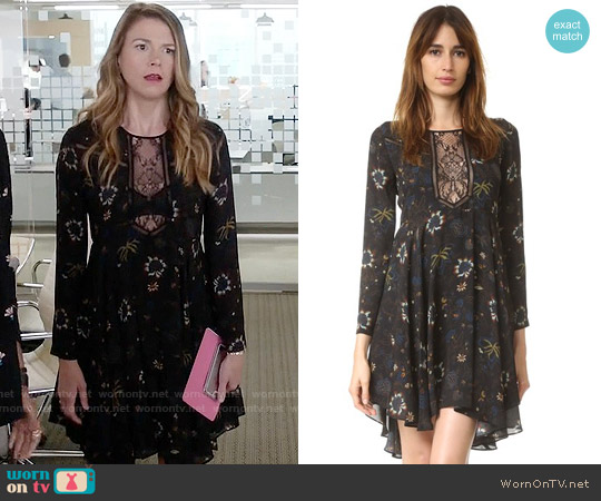 ALC Cynthia Dress worn by Liza Miller (Sutton Foster) on Younger