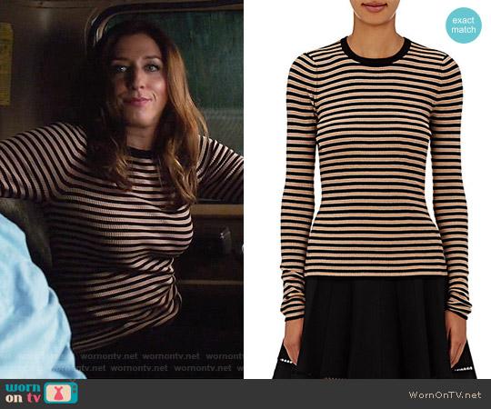 ALC Harmon Sweater worn by Gina Linetti (Chelsea Peretti) on Brooklyn Nine-Nine