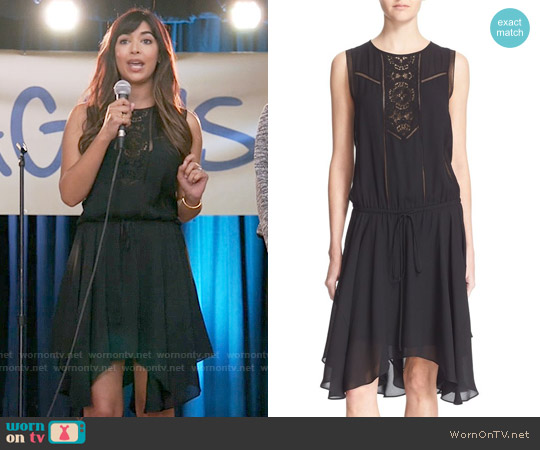 ALC Meloni Dress worn by Hannah Simone on New Girl