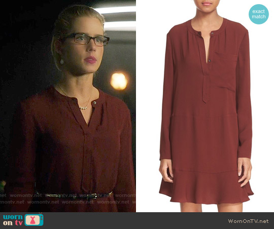 ALC Montana Dress worn by Emily Bett Rickards on Arrow