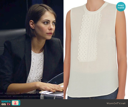ALC Silvia Top worn by Willa Holland on Arrow