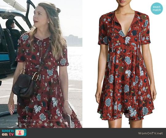 ALC Sosta Dress worn by Liza Miller (Sutton Foster) on Younger