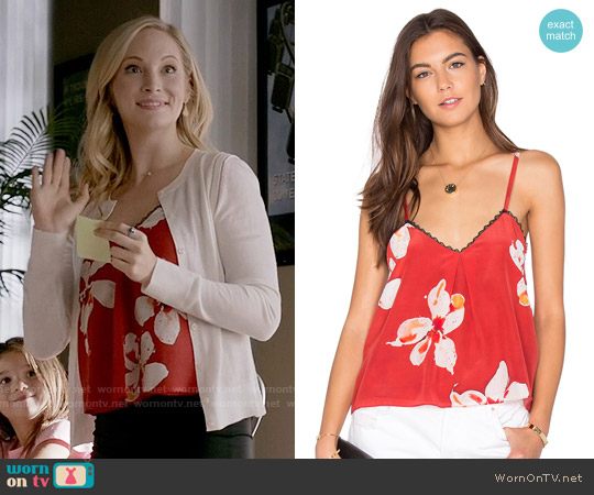 Alice + Olivia Carlene Tank worn by Candice Accola on The Vampire Diaries