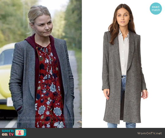 Alice + Olivia Kylie Coat worn by Emma Swan on OUAT