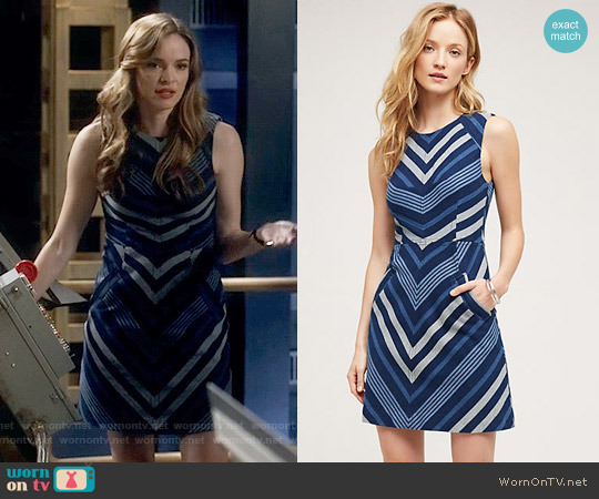 Anthropologie Antonia Dress worn by Danielle Panabaker on The Flash