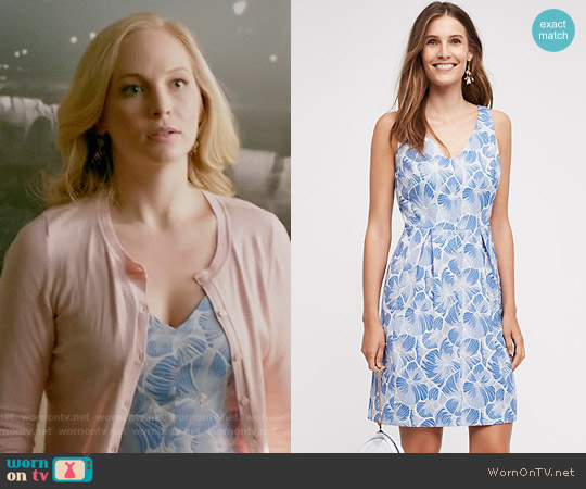 Moulinette Soeurs Willow Lake Dress worn by Candice Accola on The Vampire Diaries