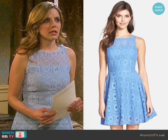 BB Dakota Renley Dress worn by Jen Lilley on Days of our Lives