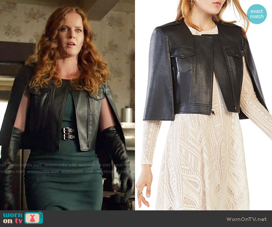 Bcbgmaxazria Richie Jacket worn by Rebecca Mader on OUAT