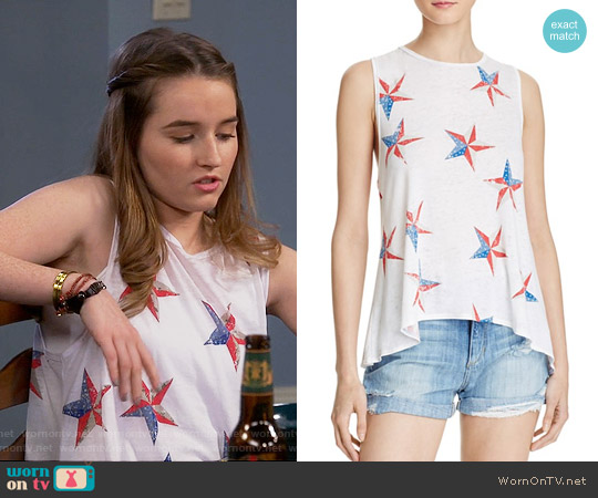 Chaser American Star Tank worn by Eve Baxter (Kaitlyn Dever) on Last Man Standing