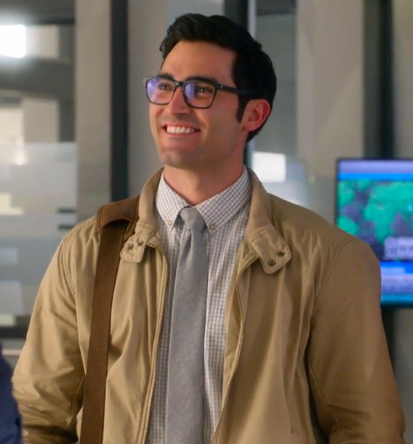 Clark's beige jacket on Supergirl