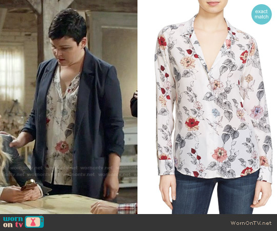 Equipment Adalyn Floral Blouse worn by Ginnifer Goodwin on OUAT