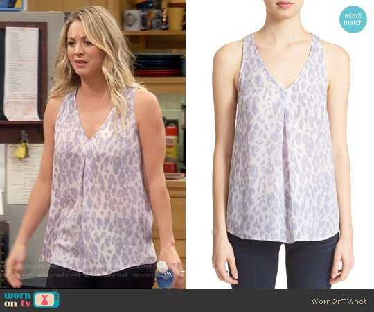 Joie Surla Top worn by Kaley Cuoco on The Big Bang Theory