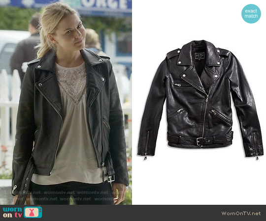 Lucky Brand 'Major' Moto Jacket worn by Emma Swan on OUAT